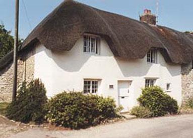 Blick auf die Vorderseite des Stable Cottage,