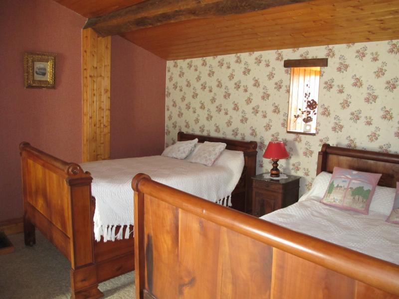 une des deux chambres à l'étage