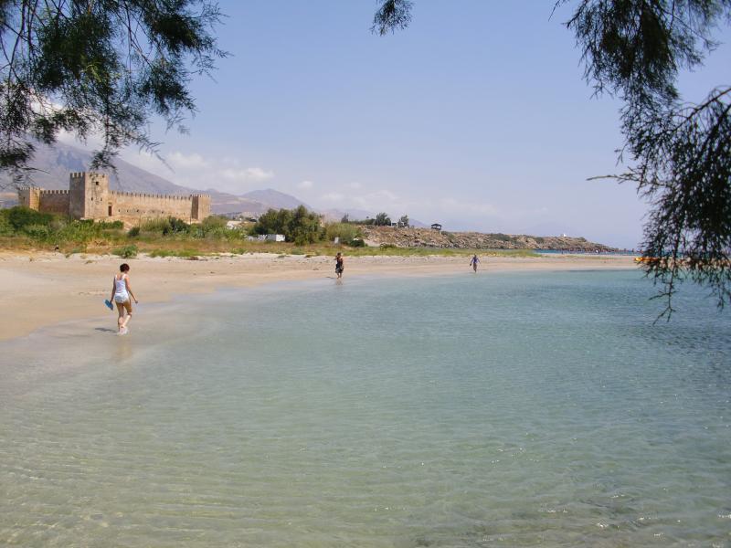 Frankocastello - clearest water on Crete!