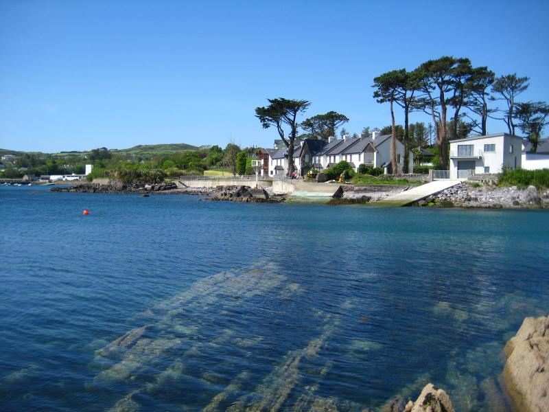 View of Coatguard Cottages, Schull Harbour