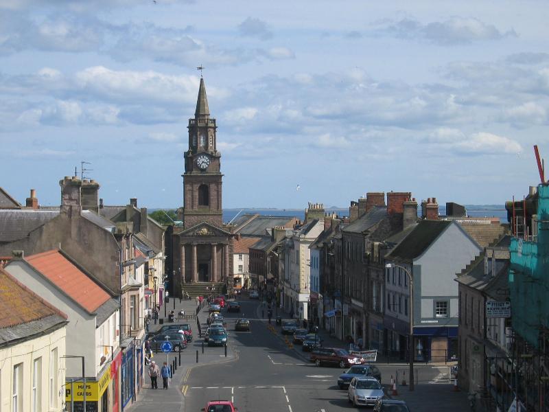 High Street de Berwick, Marygate y el gremio