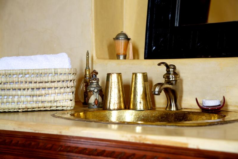Les cuivres des salles de bain