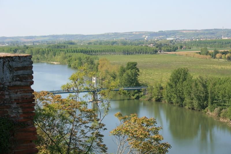 View over the Garonne Valley from Auvillar