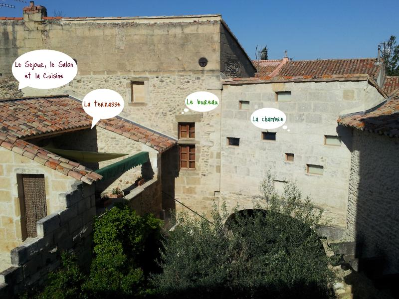 Le Petit DoMeynes, holiday rental in Bezouce