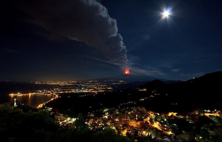 Etna from Taormina - 10 km