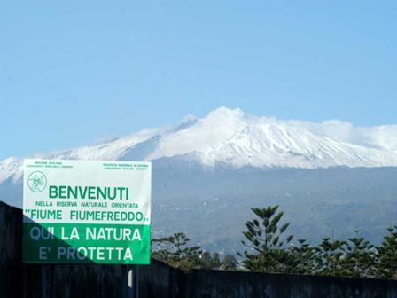 Etna view in winter time!