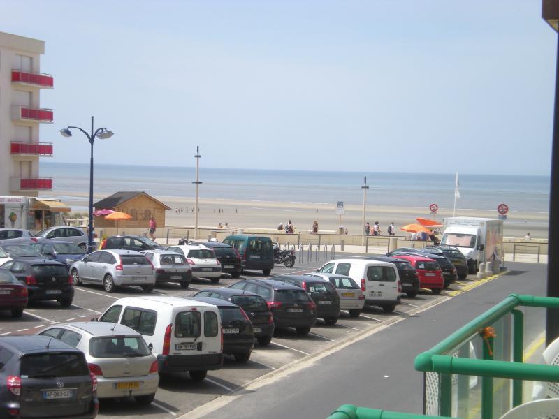 vue du balcon coté mer
