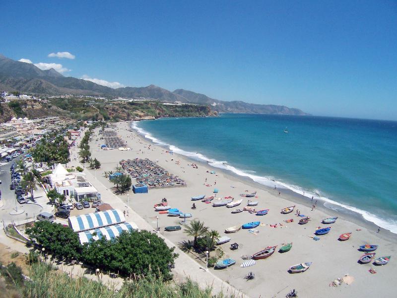 Award winning Burriana beach, Nerja