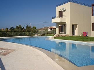 Villa Victoria and vast shared pool