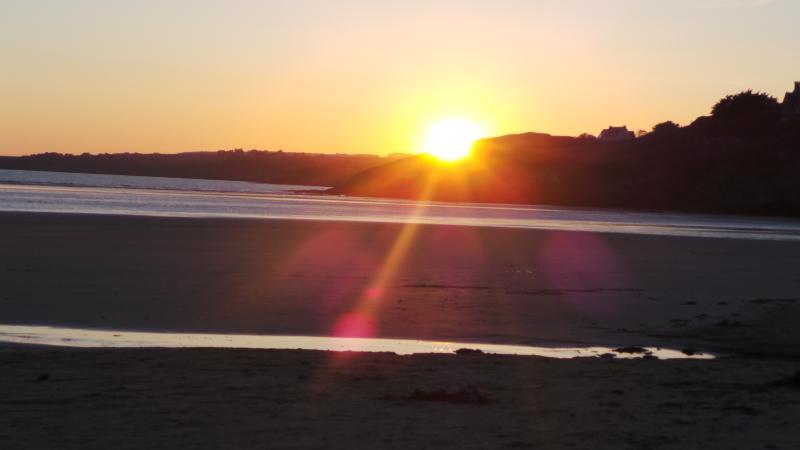 Sunset over Pentrez beach!