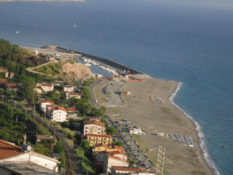 Vista sul porto/spiaggia