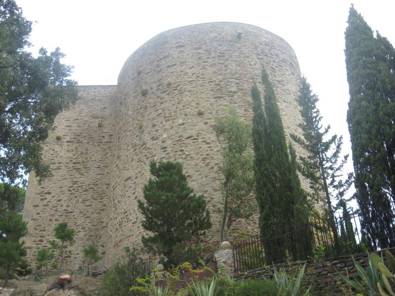 Das Schloss Corbère