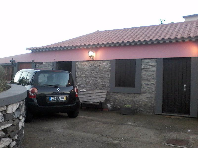 Car park in front the house