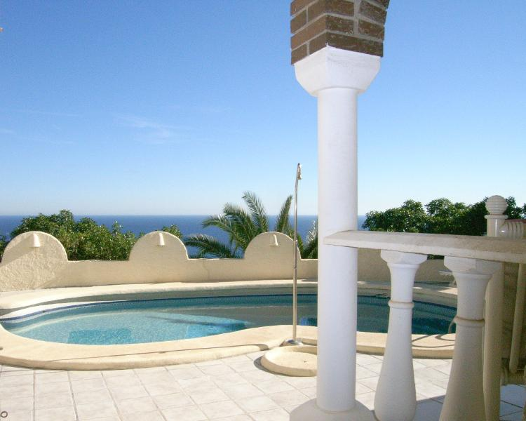 Villa Casa Alta, stunning sea views and private pool, holiday rental in Mojacar