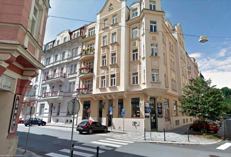 Location Koptova and Foersterova street