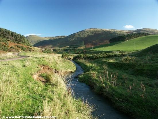 The beautiful College Valley in the Cheviots