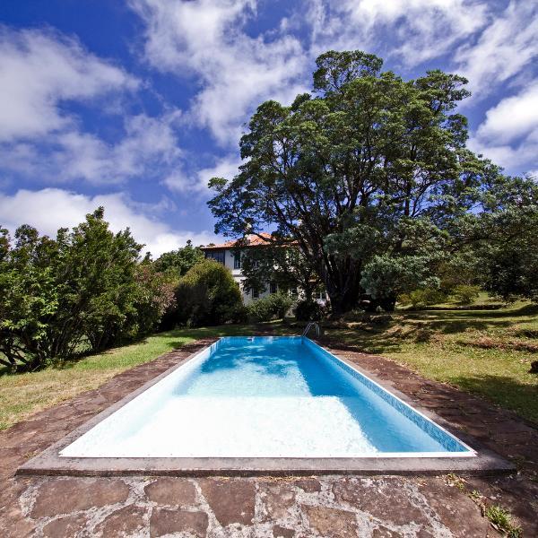 Swimming pool at Quinta das Colmeias