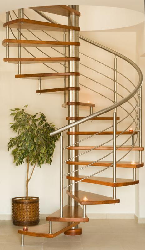 Italian design wooden stairs
