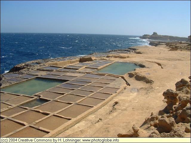 Salt Pans at Xwejni