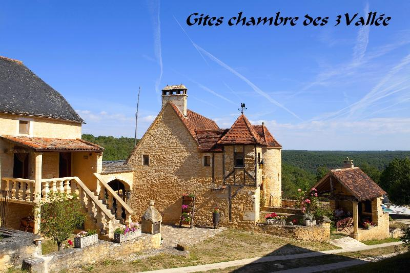 Gites Chambre Des 3 Vallee, holiday rental in Salignac-Eyvigues