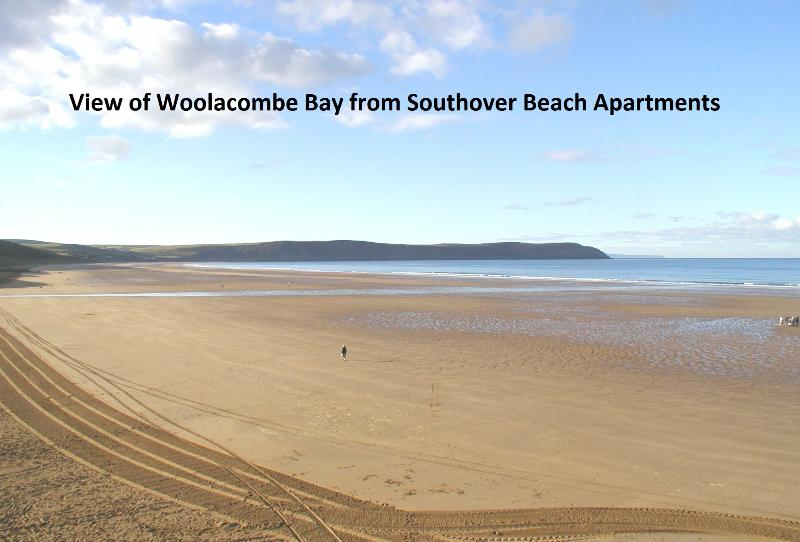 Southover Beach Apt 8 Luxury seafront Penthouse, Ferienwohnung in Woolacombe