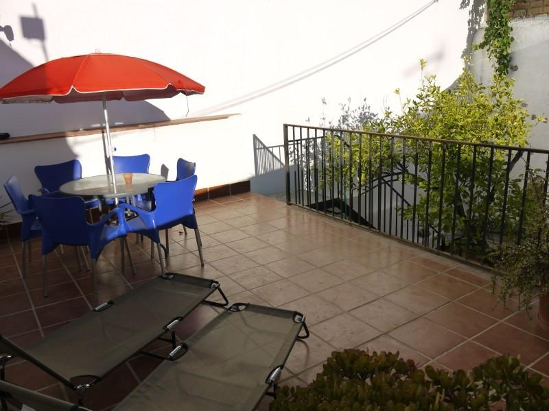 Top Terrace With loungers