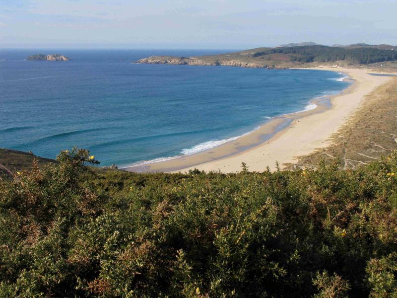 the beach of Doniños