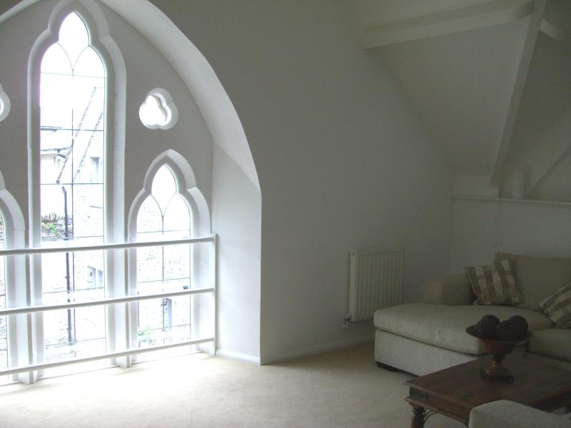 Stunning Gothic Arched Window in sitting room