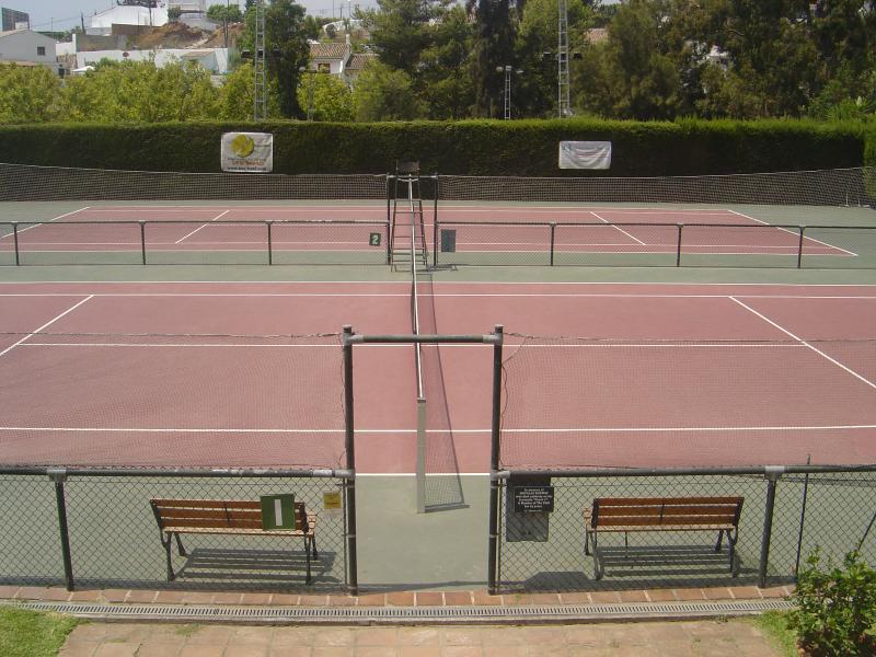Tennis at Lew Hoad Tennis Club, Mijas