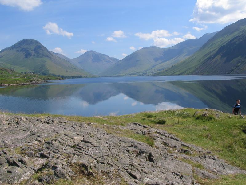 Wastwater Lake, a short drive from Birk How