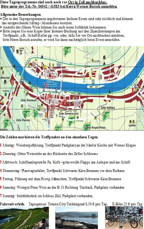 map from Zell and the spots is in our programme
