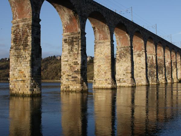 Puente de Berwick Royal Tweed