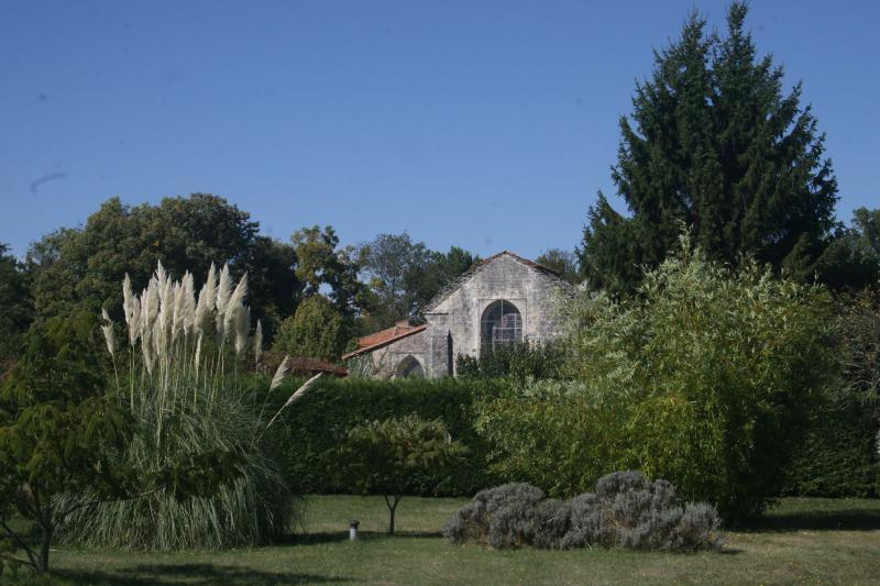 View of Barro church from back of house