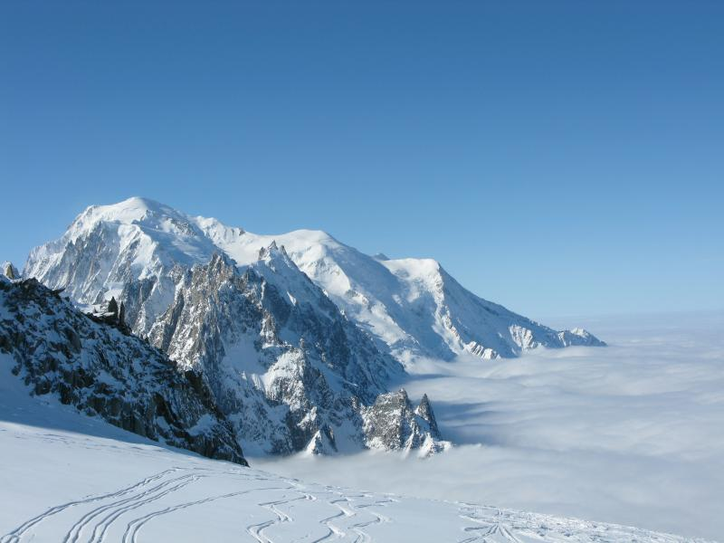 Great off piste skiing