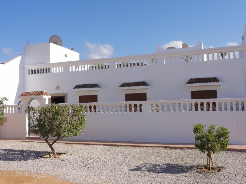 la villa blanche facade principale