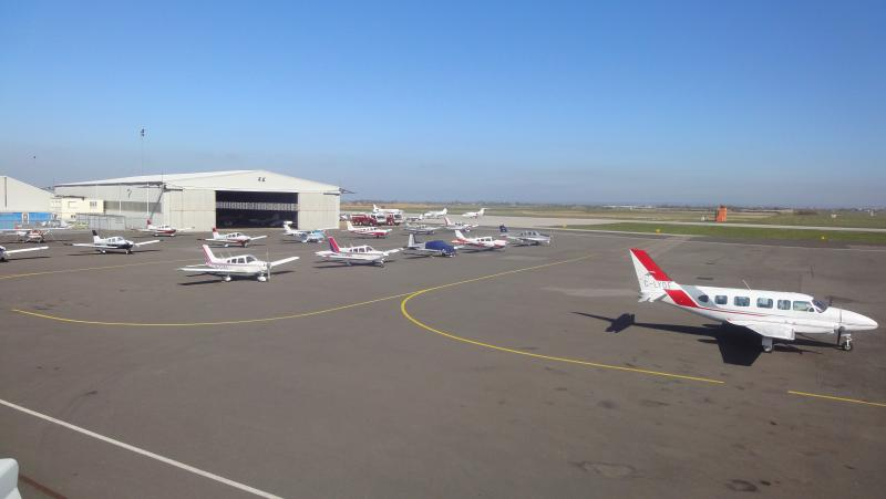 Lydd airport, trips to france, sight seeing flights, flying lessons or a meal in the restaurant.