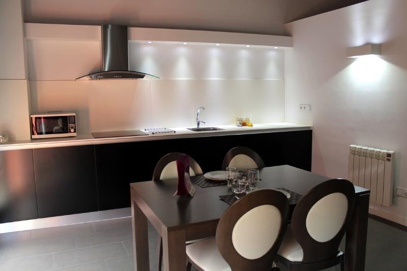 vista salón cocina