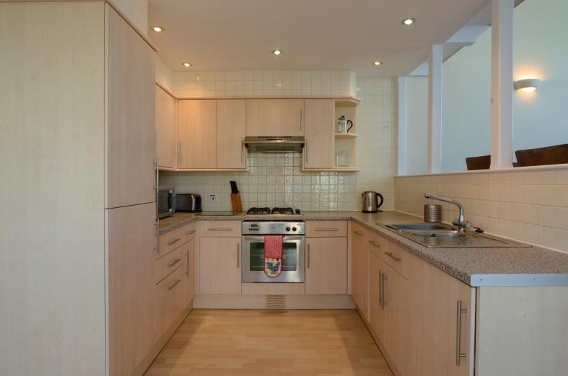 Waterfront luxury accommodation - well stocked kitchen with dishwasher