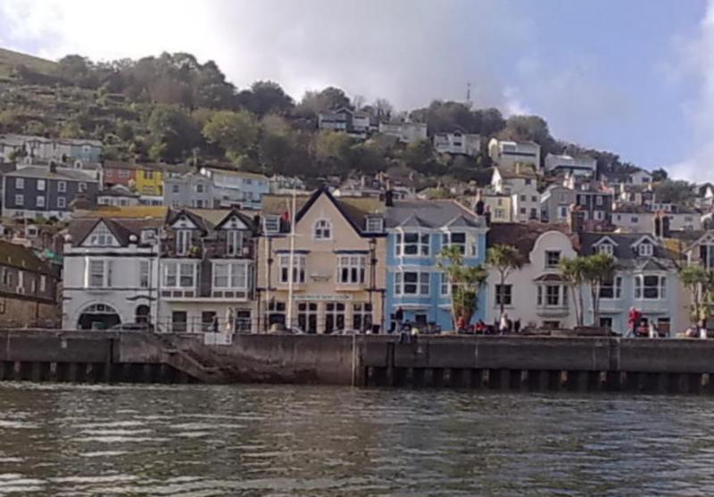 Water Taxi into town - Dartmouth View from The River Dart
