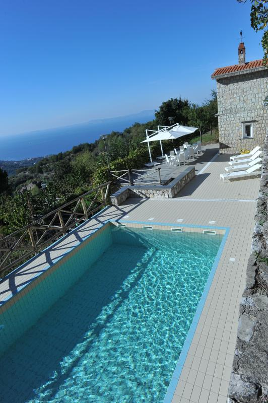 The swimming pool and the solarium