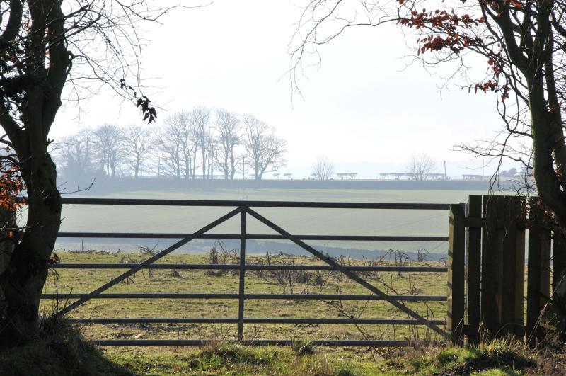 Surrounding Northumberland countryside