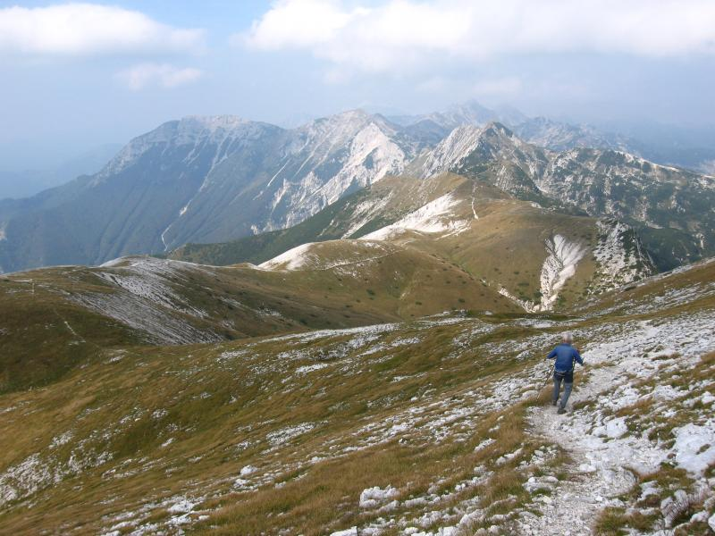 Getting high to mountain tops of Triglav National Park