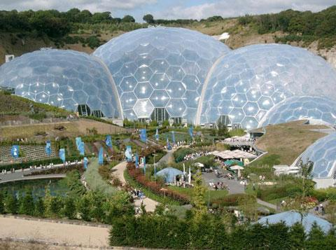 Eden Project - just 40 minutes away
