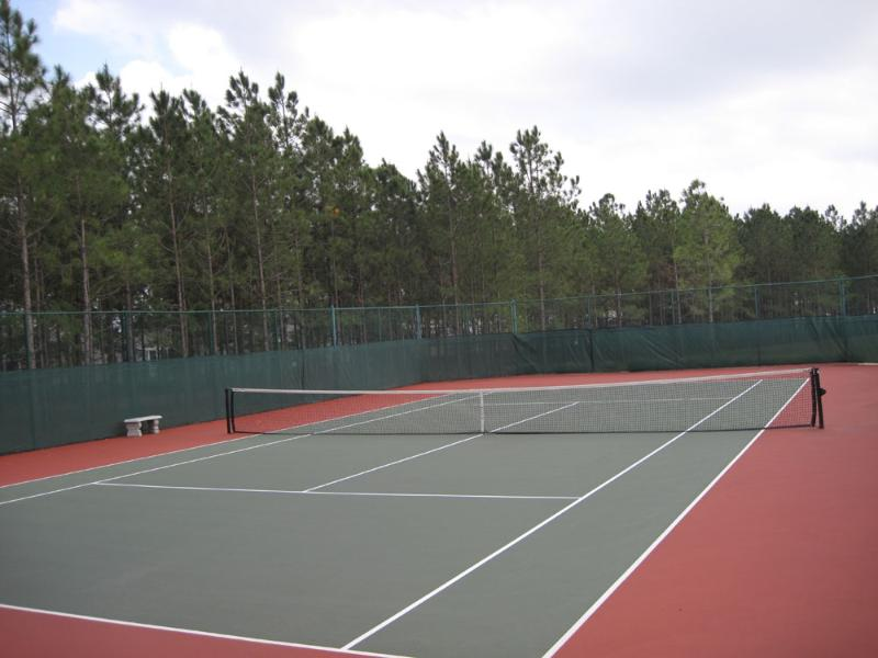 Complimentary Tennis Court