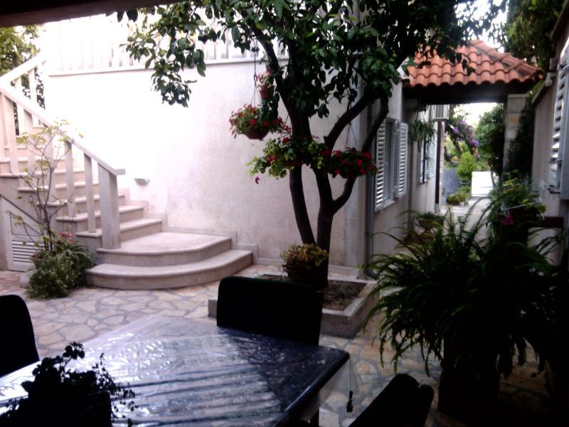 Eingang Treppe für Wohnung