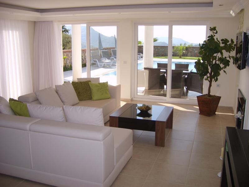 Lounge looking towards pool
