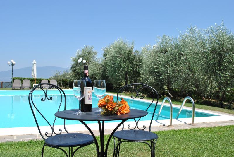 Villa il Castellaccio in Greve in Chianti - flat 2, location de vacances à Lucolena