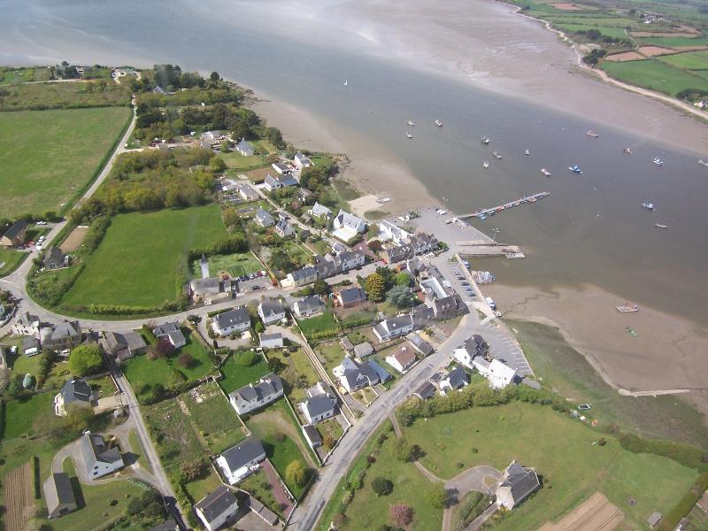 vue aérienne de Tréhiguier