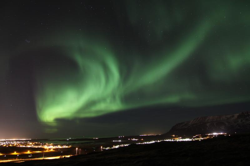 Northern Lights - Mosfellsbær by © strefa-obrazu.pl