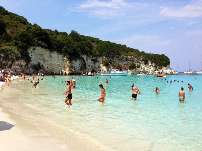 Voutoumi beach Antipaxos.A heaven in earth(voted at Youtube as one of the 10 best beaches in world)